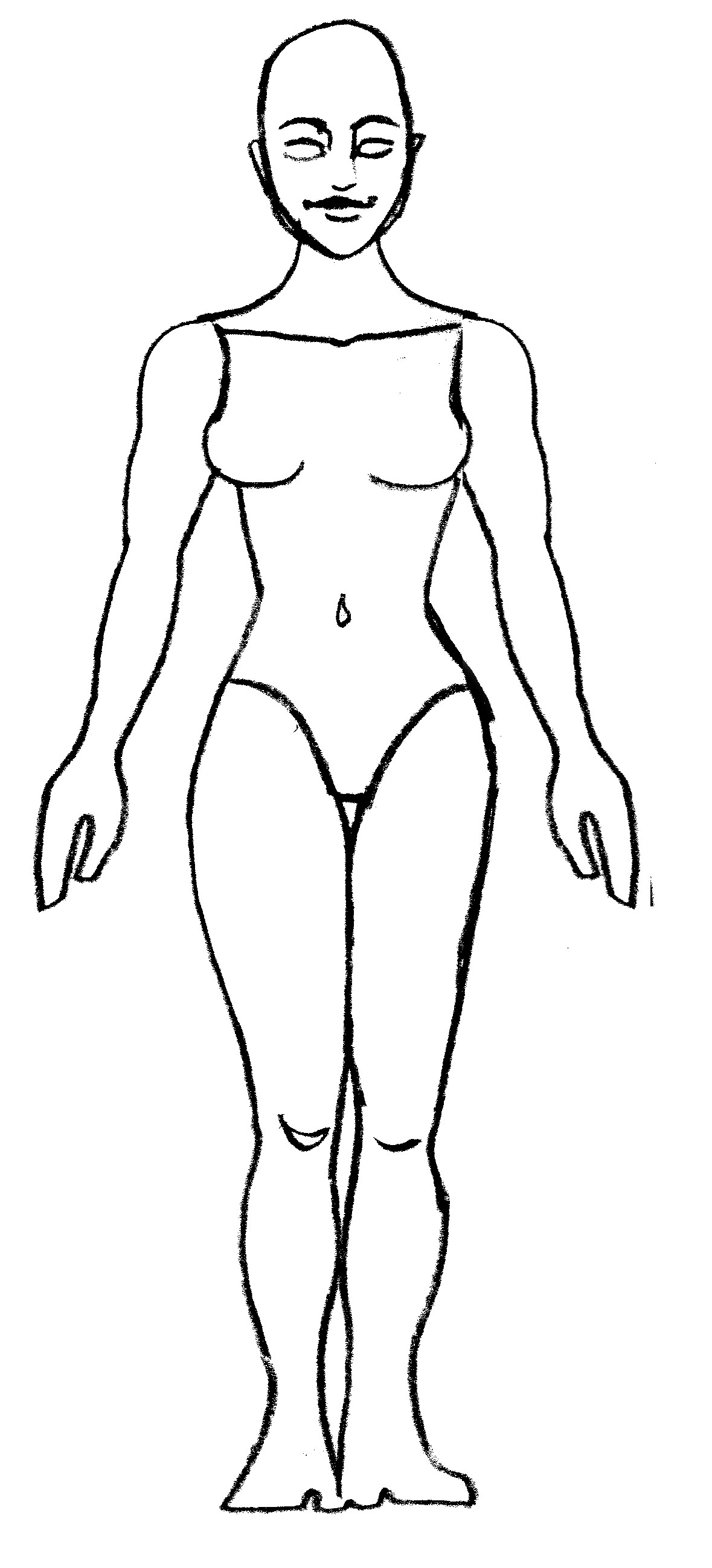 Human Body Template Download Figure Templates